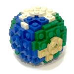 ideenschmiede umwelt gallusbrick lego globus