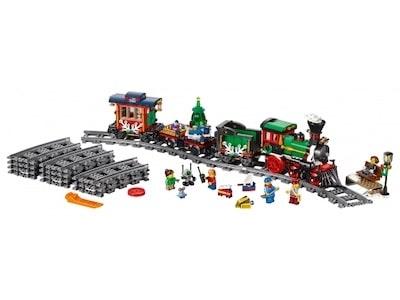 lego festlicher weihnachtszug front