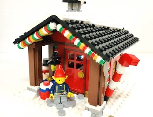 Kreation LEGO Elfenhütte (MOC)
